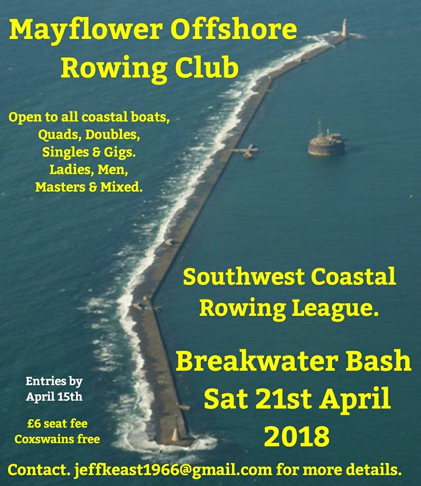 Sign up to Breakwater Bash Regatta in Plymouth