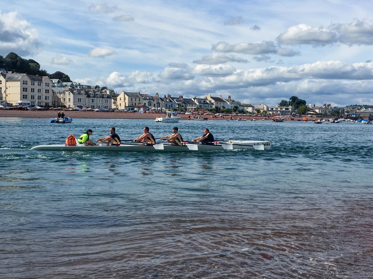 September regatta in Teignmouth 2018